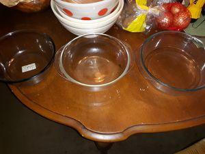 Pyrex glass bowls for Sale in Arlington, TX
