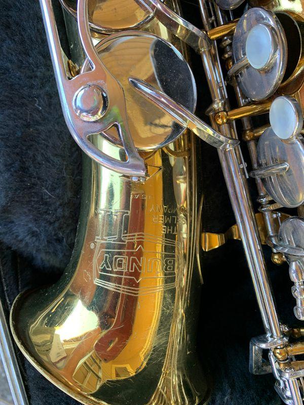 Bundy alto saxophone
