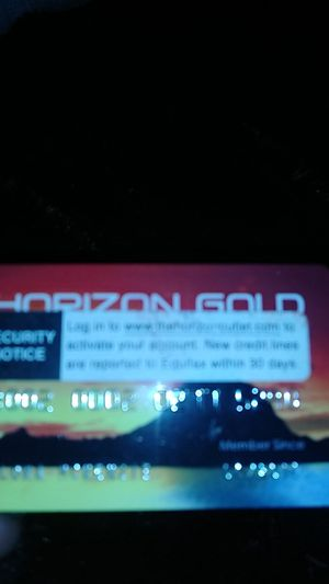 Horizon Gold Card for Sale in Little Rock, AR