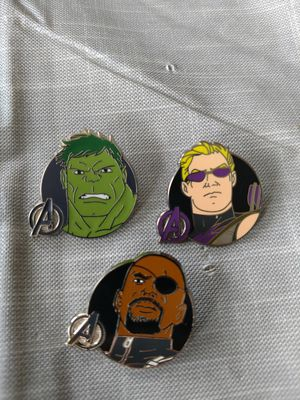 Disney avenger pins for Sale in Port Orchard, WA