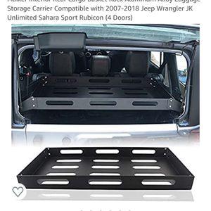 Jeep Wrangler Rear Cargo Rack for Sale in Fort Lauderdale, FL