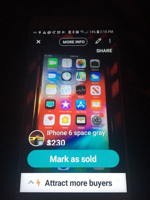 iPhone 6 space gray for Sale in Altoona, IA
