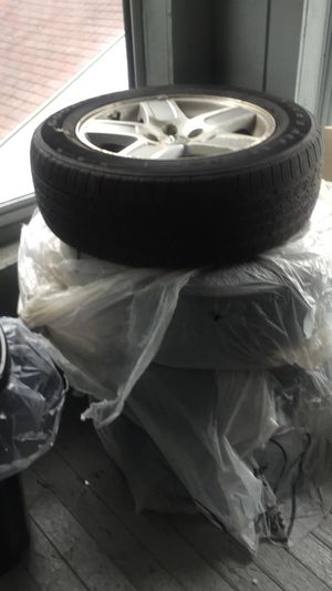 4 tires and rims for Sale in Lewiston, ME