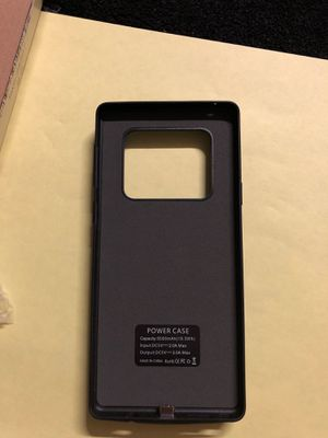 Galaxy S8 plus battery charger case for Sale in Upland, CA