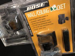 Bose speaker wall ceiling mounting brackets for Sale in Oakton, VA