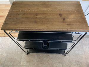 Metal kitchen storage table for Sale in Kentfield, CA