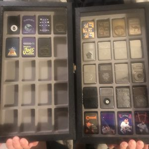 Camel Zippo Lighter Collection 27 total All made by Zippo Camel Cigarette advertisement NOT FREE Vintage for Sale in Bridgeport, CT