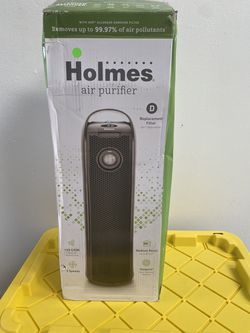 Holmes Tower Aer1 HEPA Air Purifier with Visipure Filter Viewing Window for Sale in Orlando,  FL