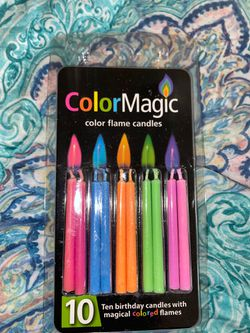 Colored birthday candles for Sale in San Angelo,  TX