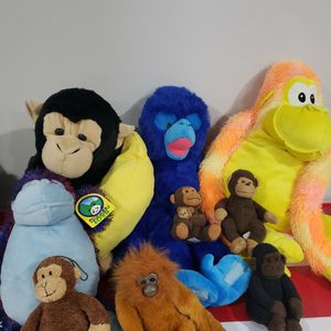 Monkey Stuffed Animal Collection for Sale in Claymont, DE