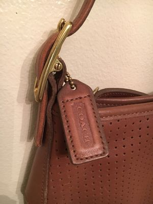 Coach Purse Brown Leather for Sale in Tennerton, WV