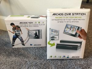 Archos 404 Portable Multimedia Player and DVR Station for Sale in Snoqualmie, WA