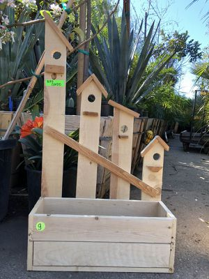Wood planter boxes for Sale in Highland, CA