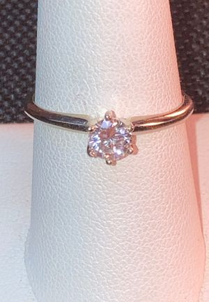 Rare natural unheated light blue diamond wedding ring for Sale in Lakeside, CA