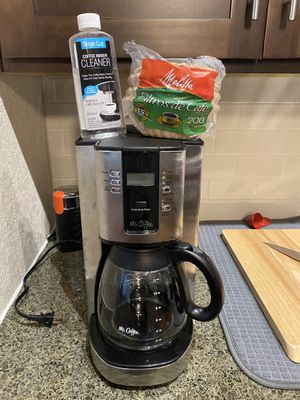 Mr. Coffee Performance Brew 12-Cup Programmable Coffee Maker Stainless Steel for Sale in Sanford, FL