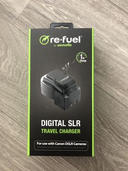Refuel digital SLR travel charger for Canon DSLRs for Sale in Denver,  CO