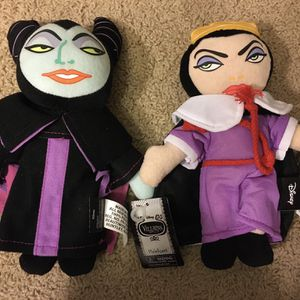 New Disney Villains Plush for Sale in Peoria, AZ