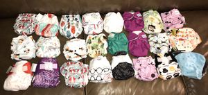 Newborn cloth diapers barely used for Sale in Lynnwood, WA