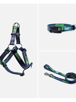 Woof Concept - dog collar, leash and harness set (Large) for Sale in San Jose,  CA