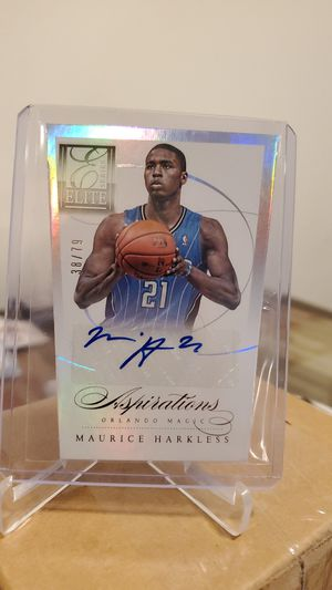 Magic Maurice Harkless certified autograph card for Sale in Long Beach, CA