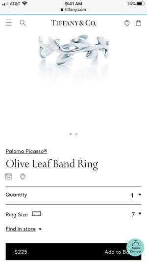 Tiffany and Co. ring for Sale in Jacksonville, FL