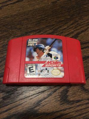 N64 All-Star Baseball 2001 Game for Sale in El Segundo, CA