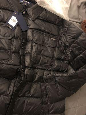 Polo Ralph Lauren down shirt jacket for Sale in Alexandria, VA