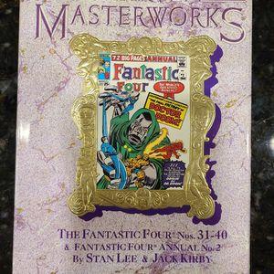 "MARVEL MASTERWORKS FANTASTIC FOUR ""THE FINAL VICTORY OF DOCTOR DOOM!"" Nos 31-40 VOL.21 for Sale in Jensen Beach, FL"
