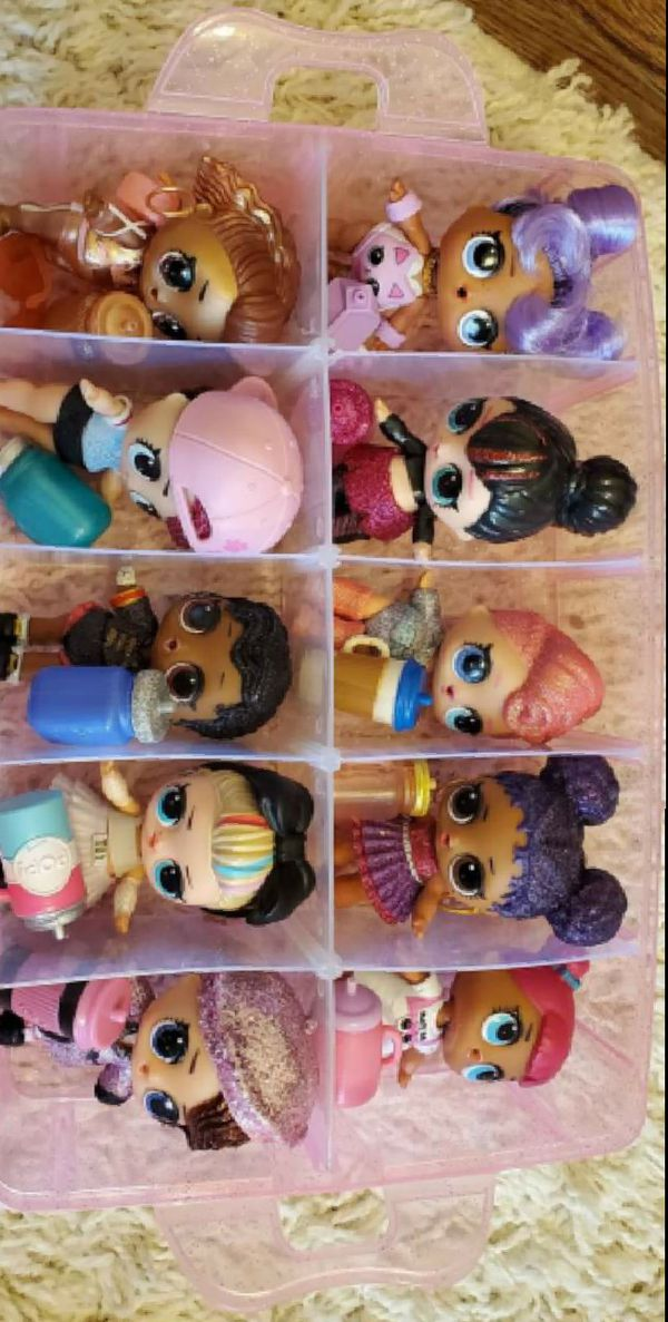 Lol doll collection