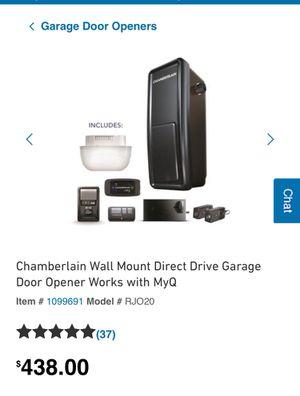 Garage door opener for Sale in Long Beach, CA