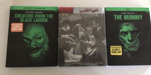 Universal monsters Blu-ray movie bundle for Sale in Bloomington, CA