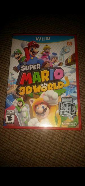 NINTENDO Wii U SUPER MARIO 3DWORLD 100%💥💥 for Sale in Escondido, CA