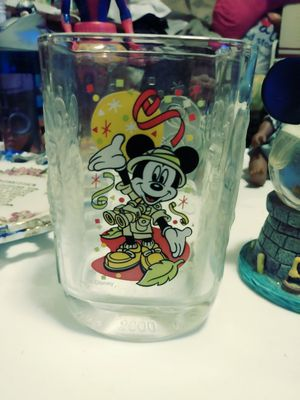 Collectable micky mouse glass cup and micky mouse globe ball for Sale in Philadelphia, PA