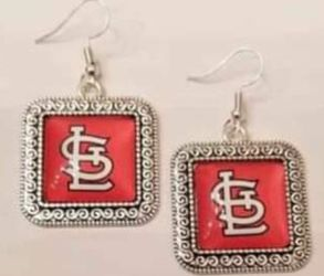$12 Brand New STL Cardinal Earrings for Sale in Ballwin,  MO