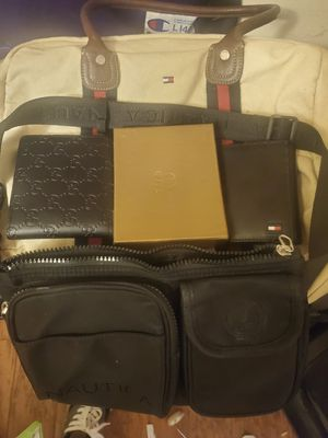 Nice wallets bags etc. Gucci tommy nautica for Sale in Tampa, FL