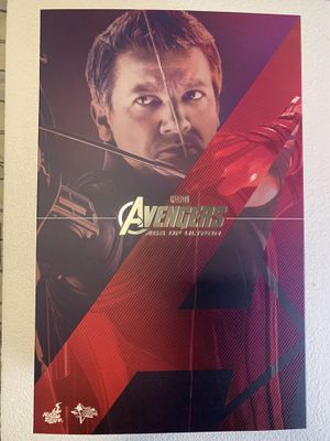 Hot Toys Age of Ultron Hawkeye for Sale in Covina, CA