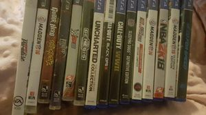 Ps4,Ps3, and 1 Xbox 360 video game for Sale in Belleville, IL