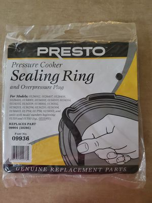 Presto Pressure Cooker Sealing Ring for Sale in Troy, MI