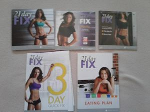 21 Day Fix DVD Set for Sale in Los Angeles, CA