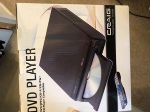 Craig DVD player for Sale in Arlington, VA