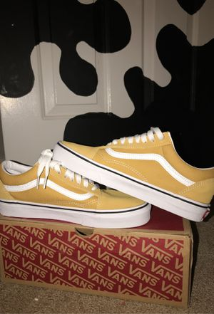 Mustard yellow vans (old skool) for Sale in Poinciana, FL