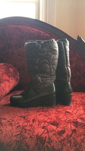 Coach rain/snow boots S7 for Sale in Detroit, MI