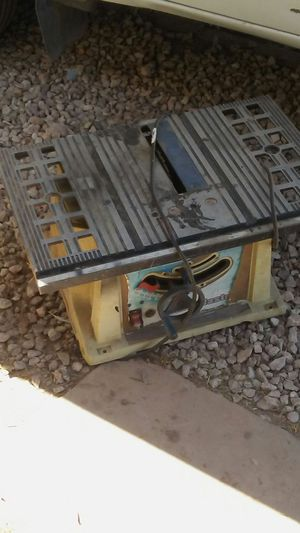 Table Saw Shopmaster for Sale in Tolleson, AZ