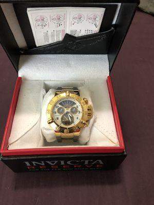 Invicta reserve watch for Sale in Abilene, TX