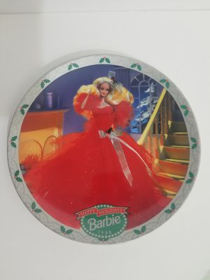 Barbie Collector Plate COE Enesco Happy Holiday 1988 Limited Edition for Sale in Mountain View, CA