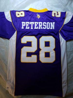 ADRIAN PETERSON NFL MINNESOTA VIKINGS STITCHED JERSEY MEDIUM for Sale in Springfield, VA