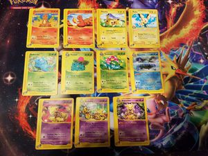 Pokemon Trading Cards E Series Expedition Lot -Blastoise- Venusaur- Pikachu for Sale in Murrieta, CA