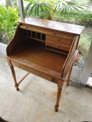 Antique wooden desk for Sale in Miami, FL