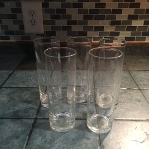 NORITAKI TALL GLASSES for Sale in Fort Worth, TX