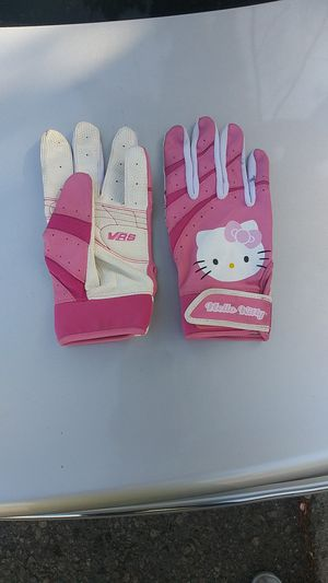 HELLO KITTY Pink Leather Girls Gloves for Sale in Woodland Hills, CA